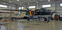 44-28866 @ I74 - This beautifully restored airworthy B-25 rests at the Champaign Aviation Museum. - by Daniel L. Berek