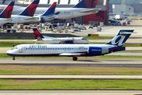 N955AT @ KATL - Boeing 717-2BD [55017] (AirTrans Airways) Atlanta-Hartsfield~N 11/04/2010. Seen departing.