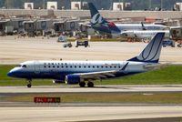 N645RW @ KATL - Embraer Emb-170-100SE [17000064] (United Express) Atlanta-Hartsfield~N 11/04/2010. Seen departing.