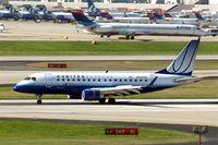 N645RW @ KATL - Embraer Emb-170-100SE [17000064] (United Express) Atlanta-Hartsfield~N 11/04/2010. Just landed reverse thruster applied.