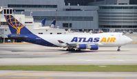 N418MC @ MIA - Atlas 747-400F