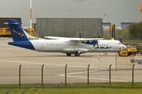 HB-AFW @ EGNX - Farnair1994 ATR 72-202, c/n: 419 at East Midlands with Quiljet India titles
