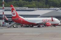 D-ABMH @ EDDL - Air Berlin, Boeing 737-86J (WL), CN: 37769/4159 - by Air-Micha