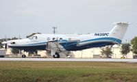 N435PC @ ORL - PC-12 leaving NBAA