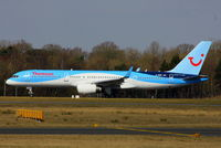 G-OOBF @ EGCC - Now in Thomson's Dynamic Wave colour scheme - by Chris Hall