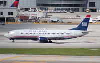 N445US @ MIA - US Airways 737-400