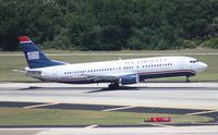N453UW @ TPA - US Airways 737-400