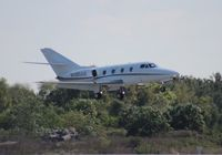 N485AS @ ORL - Falcon 10 at NBAA