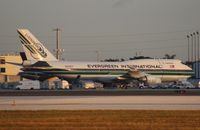 N493EV @ MIA - Evergreen 747-400BCF