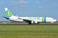 PH-HZE @ EHAM - Transavia B738 is back home. - by FerryPNL