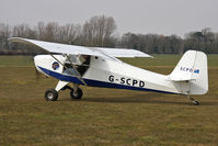 G-SCPD @ EGBR - Reality Escapade 912(1) at The Real Aeroplane Club's Spring Fly-In, Breighton Airfield, April 2013. - by Malcolm Clarke