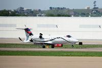 N42JP @ AFW - NASCAR traffic at Alliance Airport - Fort Worth, TX