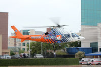 N146CF @ XA18 - Careflite departing Baylor All Saints Medical Center