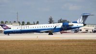 N503MJ @ MIA - United Express CRJ-700