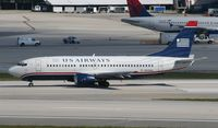 N530AU @ MIA - US Airways 737-300 since been retired