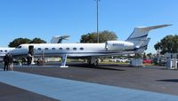 N550GD @ ORL - Gulfstream G550 at NBAA