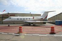 N559L @ YIP - Little Caesars Pizza Gulfstream II