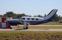 N561C @ ORL - PA-46-350P leaving NBAA