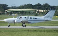 N575JB @ ORL - Cessna 414A - by Florida Metal