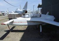 N77NS - Rutan (N S Spitzer) VariEze at the Oakland Aviation Museum, Oakland CA