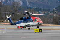 LN-OQA @ ENBR - CHC Helikopter Service Norway - by Tomas Milosch