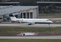 N601LS @ TPA - Challenger 850