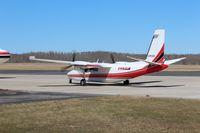 C-FCZZ @ CYLB - North American Rockwell 690A Turbo Commander, bird dogging forC-GKFO Convair 340/580 - by Alvin McMartin