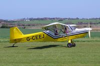 G-CEEJ @ X3CX - Just landed at Northrepps. - by Graham Reeve