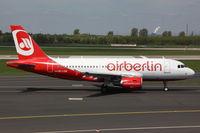 OE-LOB @ EDDL - Niki, Airbus A319-112, CN: 3447 - by Air-Micha