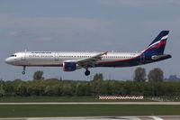 VQ-BEI @ EDDL - Aeroflot, Airbus A321-211, CN:4148, Aircraft Name: S. Korolev - by Air-Micha
