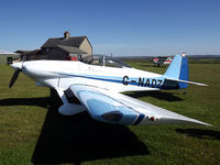 G-NADZ @ - - Lovely little aircraft and a nice owner to match. Taken at the small private airstrip of Top Farm.