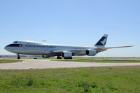B-LJE @ DFW - Cathay Pacific 747-8F at DFW Airport