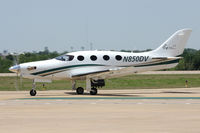 N850DV @ GKY - At Arlington Municipal Airport
