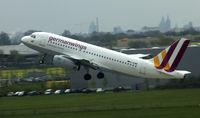 D-AGWB @ EDDV - Departing Runway 09R Hannover (EDDV) - by Derek Flewin