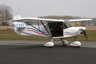 G-CESD @ EGBR - Best Off Skyranger Swift 912S(1) at The Real Aeroplane Club's Spring Fly-In, Breighton Airfield, April 2013. - by Malcolm Clarke