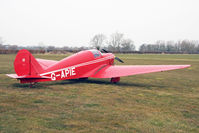 G-APIE @ EGBR - aTipsy Belfair at The Real Aeroplane Club's Spring Fly-In, Breighton Airfield, April 2013. - by Malcolm Clarke