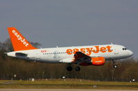 G-EZEZ @ EGCC - easyJet - by Chris Hall