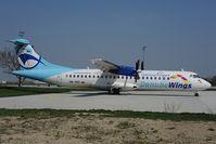 OM-VRC @ LZIB - Danube Wings ATR72 - by Dietmar Schreiber - VAP