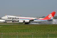 LX-VCC @ ELLX - Cargolux - by Martin Nimmervoll