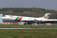 CS-TPC @ ELLX - Portugalia Airlines - by Martin Nimmervoll