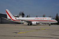 SP-LIG @ LZIB - Polish Air Force Embraer 175