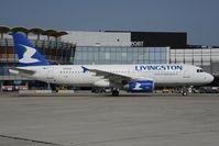 EI-EUA @ LOWW - Livingston Airbus 320 - by Dietmar Schreiber - VAP