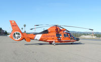 6515 @ CCR - MH-65D from the Coast Guard Air Station San Francisco visiting CCR. - by Bill Larkins