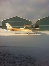 C-FSQF @ CYOS - 1965 Cessna 172F based out of CYOS - by Drew Edgar