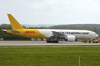 N774SA @ EGNX - Southern Air / DHL's B777F at East Midlands with freight  flight   to/from Leipzig