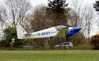 G-AVNY @ EGHP - Ex: G-AVNY > G-IVEL > G-AVNY - Originally owned to, Sportair Aviation Ltd in May 1967 and currently in private hands since October 2009 - by Clive Glaister