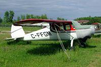 C-FFGM @ CYRO - Cessna 140 [8895] Ottawa-Rockcliffe~C 19/06/2005 - by Ray Barber