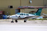C-FEQK @ CYWG - Beech 95-B55 Baron [TC-1374] Winnipeg-International~C 25/07/2008 - by Ray Barber