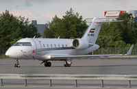 A6-MBS @ LOWW - ExecuJet Middle East Bombadier CL-600 - by Thomas Ranner