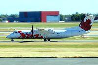 C-FJXZ @ CYVR - De Havilland Canada DHC-8-311 Dash 8 [264] (Air Canada Jazz) Vancouver~C 21/07/2008